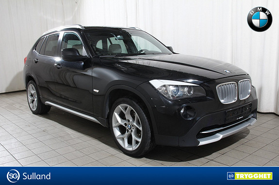 BMW X1 xDrive 20dA 177hk X Line-Navi-Pano.tak-sportsseter-HiFi