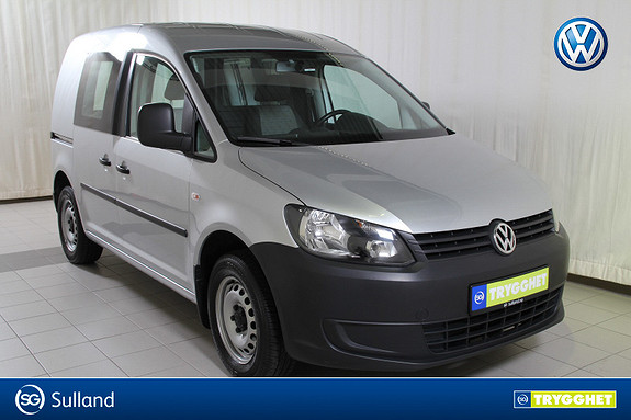 Volkswagen Caddy 1.6 75 TDI park.varmer m/fjernkontroll,hengerfeste,DAB+