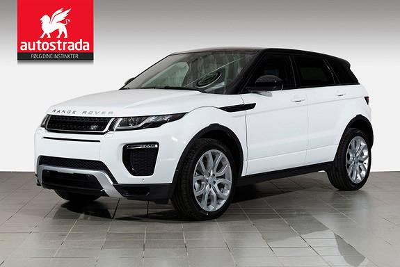 """Land Rover Range Rover Evoque SE Dynamic/ Webasto/Panorama/20""""/ INNSKUDD KR 50`"""