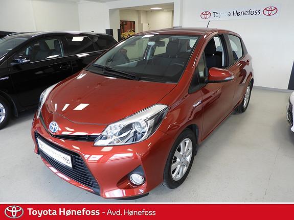Toyota Yaris 1,5 Hybrid Active ,100hk,  2014, 40100 km, kr 164000,-