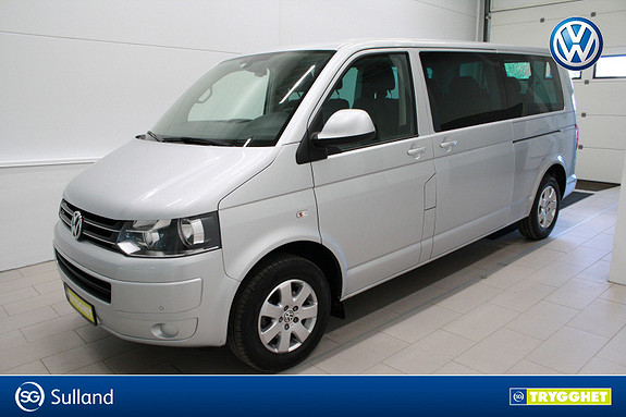 Volkswagen Caravelle 2,0 TDI 115hk lang 9 seter,webasto,klima,cruise,DAB+,