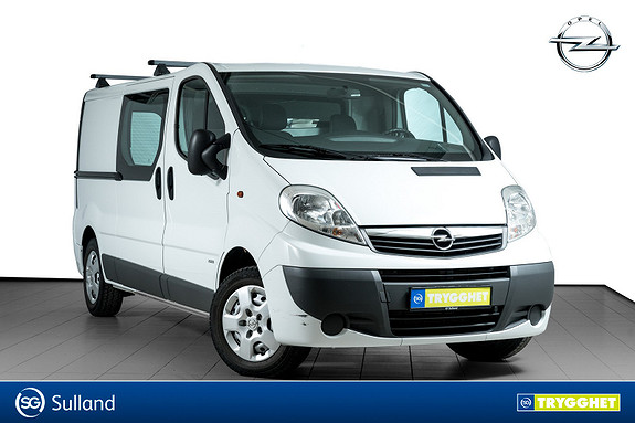 Opel Vivaro 2,0 CDTi 114hk E5 Mester L2H1 LAV KM-SERVICEHISTORIKK