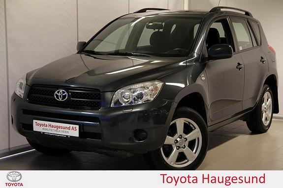 Toyota RAV4 2,2 D-4D 136hk Aircondition, setevarme, 4x4 - norsksolg  2007, 101330 km, kr 130000,-