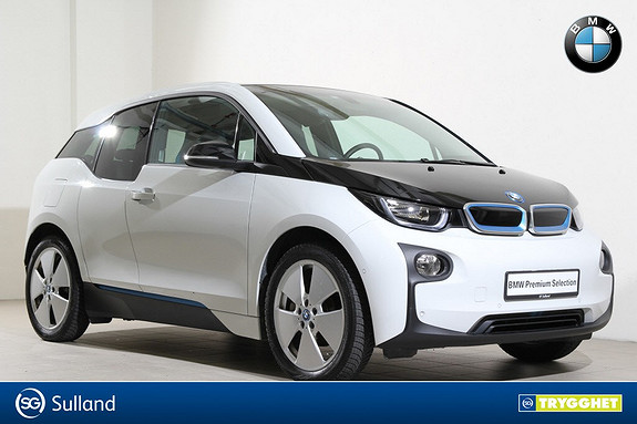 BMW i3 60Ah Navi-Varmepumpe-Hurtiglader-DAB+-Bluetooth-LED++