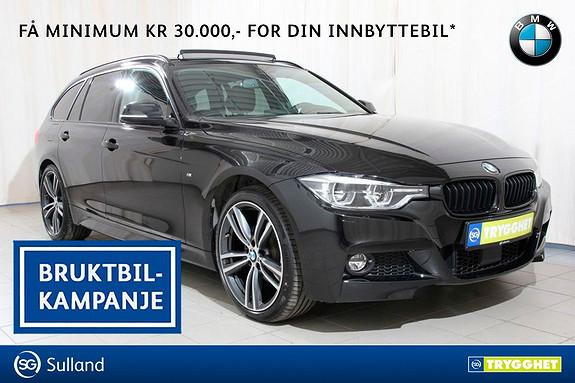 BMW 3-serie 320d xDrive 190hk 100 Edition aut Msport, alt av utstyr