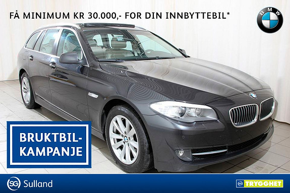BMW 5-serie 530d xDrive Touring Automat Panorama, Fullskinn