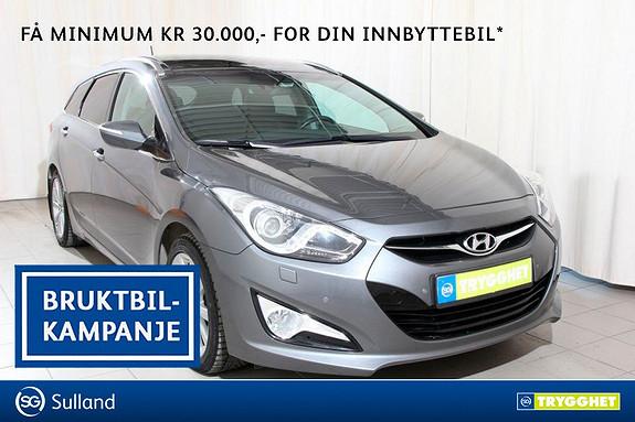 Hyundai i40 1,7 CRDi 115hk Premium Toppmodellen med alt av utstyr