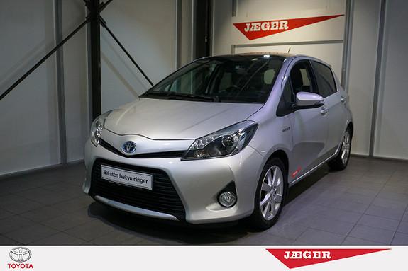 Toyota Yaris 1,5 Hybrid Style e-CVT Glasstak-Dab radio-Cruisecontrol  2014, 29200 km, kr 189000,-