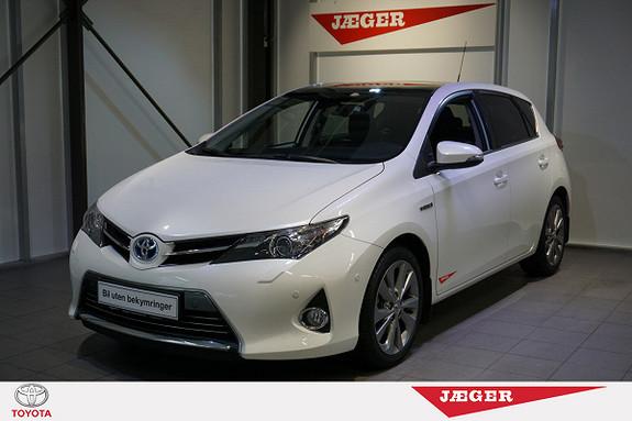 Toyota Auris 1,8 Hybrid E-CVT Executive Glasstak-Cruise-Navi-Dab  2014, 29000 km, kr 249000,-