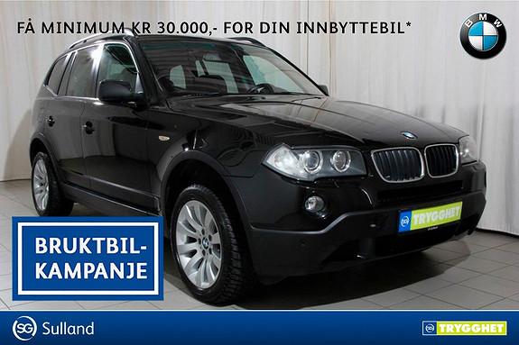 BMW X3 2.0d Automat Navi,telefonsystem,hengerfeste,panoramatak