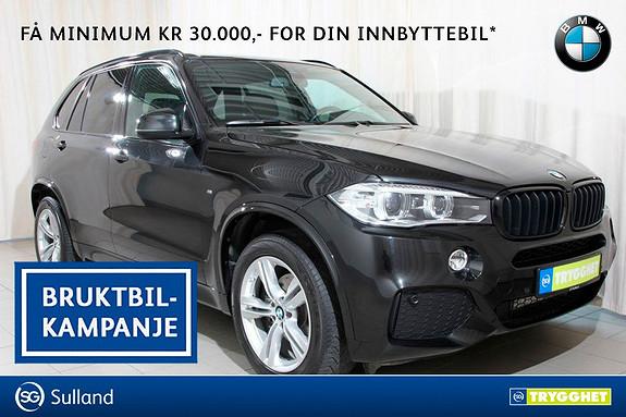 BMW X5 xDrive25d 211hk M sport, Navi proff