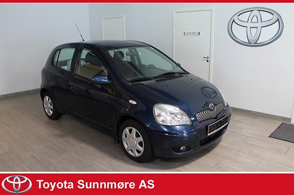 Toyota Yaris 1,3 Blue **LAV KM**SERVICEHISTORIKK**NYLIG EU-GODKJENT+  2005, 131000 km, kr 49000,-