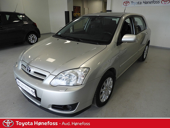 Toyota Corolla 1,6 Sol  2004, 168900 km, kr 49000,-