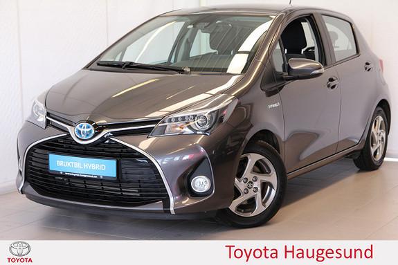 Toyota Yaris 1,5 Hybrid Active S e-CVT Navi, kamera, Bluetooth, Tect  2016, 10543 km, kr 199000,-