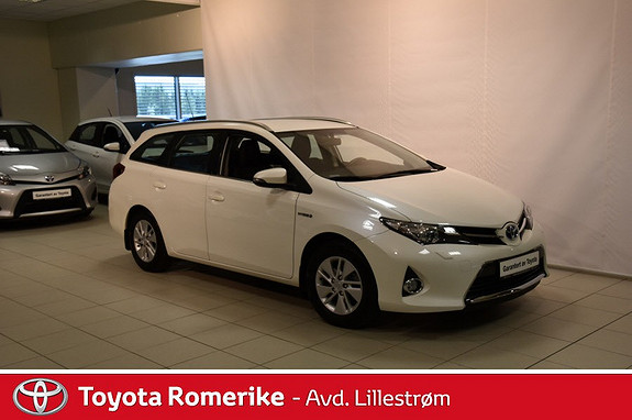 Toyota Auris Touring Sports 1,8 Hybrid Active  2014, 44 981 km, kr 239 000,-
