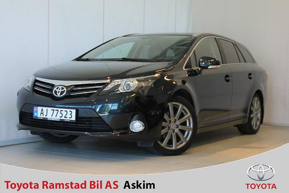 Toyota Avensis 1,8 147hk Premium Multidrive S Glasstak, utrolig pen!  2013, 63300 km, kr 259000,-