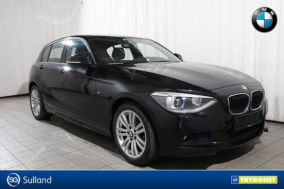 BMW 1-serie 116i 136hk-M Sport-Blåtann-DAB-Norsk-en eier-kompl.serv