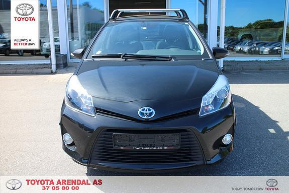 Toyota Yaris 1,5 Hybrid Style Pen Style topp modell  2014, 21500 km, kr 179000,-