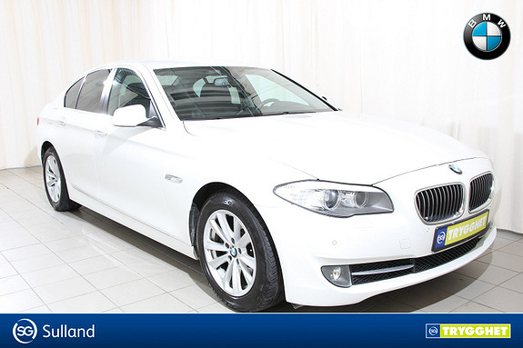 BMW 5-serie 520d 163hk Automat Komfortstoler,webasto,hengerfeste