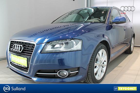 Audi A3 Sportback 2,0 TDI 140 hk quattro Ambition **LAV KM**
