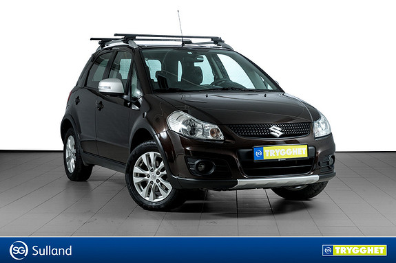 Suzuki SX4 1,6 Summit 4x4 EN EIER-FULL HISTORIKK-DAB-USB-BLUETOOTH