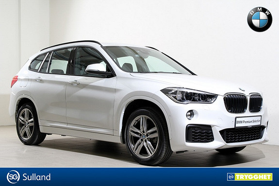 BMW X1 xDrive18d 150hk aut Mpakke-Navi-HUD-DAB+-HiFi-Norsk++