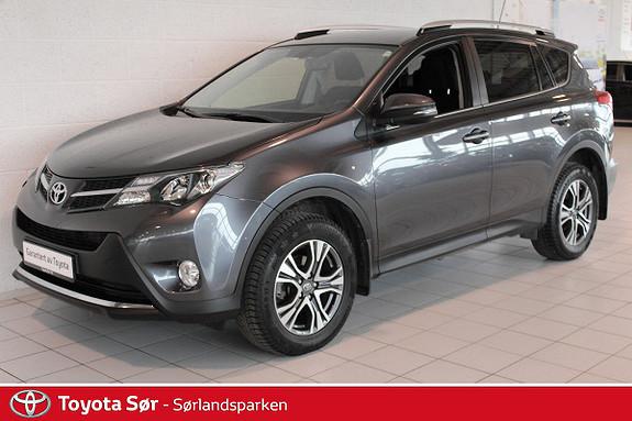 Toyota RAV4 2,0 D-4D 4WD Active Innbyttegaranti kr. 20.000,-  2014, 49000 km, kr 329000,-