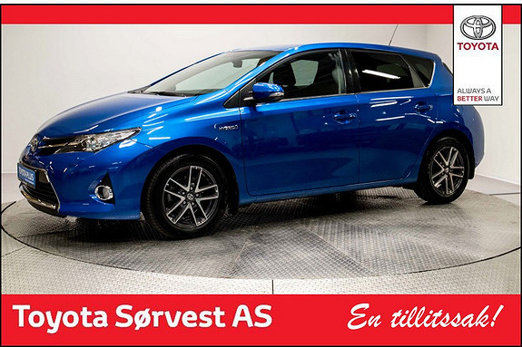 Toyota Auris 1,8 Hybrid E-CVT Active+ Nydelig farge!  2014, 33700 km, kr 198000,-