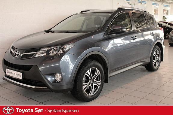 Toyota RAV4 2,2 D-4D 4WD Active Innbyttegaranti kr. 20.000,-  2013, 42000 km, kr 319000,-