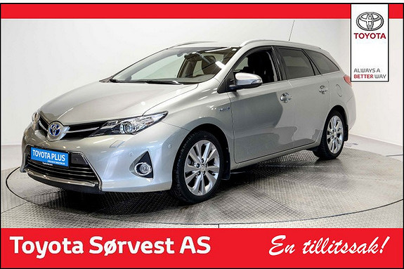 Toyota Auris Touring Sports 1,8 Hybrid Executive topp modell!  2014, 43004 km, kr 208000,-