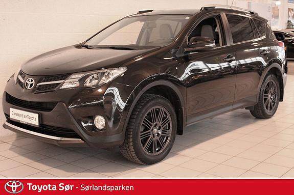 Toyota RAV4 2,2 D-CAT 4WD Exective aut Innbyttegaranti kr. 20.000,-  2014, 52500 km, kr 379000,-