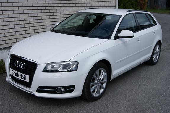 Audi A3 Sportback 1,6 TDI S tronic Ambition Xenon, Cruise, Blåtan  2012, 48000 km, kr 179000,-