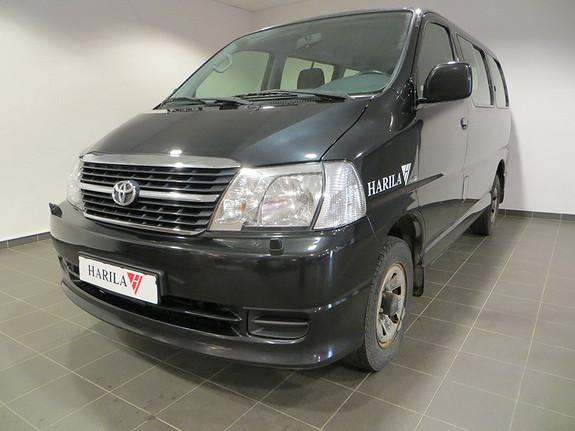 Toyota HiAce D-4D 117hk 4WD HiClass 8-seter  2010, 184500 km, kr 299000,-