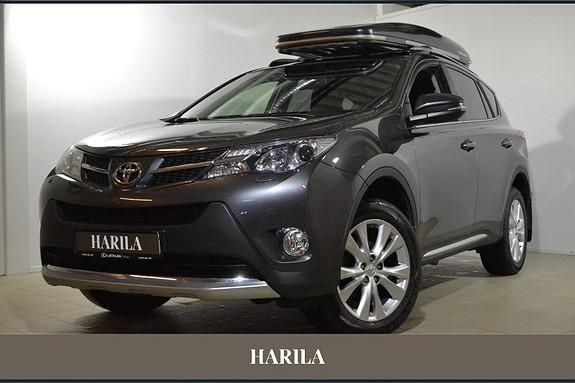 Toyota RAV4 2,0 4WD Active CVT AUTOMAT, NAVI, CRUISE, RYGGEKAMERA  2013, 39832 km, kr 339000,-