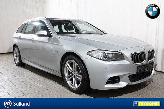 BMW 5-serie 520d xDrive 190hk aut MSport-Komf.seter-Navi-Skinn-DAB+