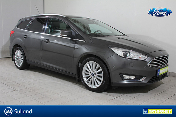Ford Focus 2,0 TDCi 150hk Titanium X Aut EN EIERS BIL-SKINN-DAB+