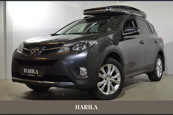 Toyota RAV4 2,0 D-4D 4WD Executive SKINN, CRUISE, DAB, NAVIGASJON  2014, 68000 km, kr 349000,-