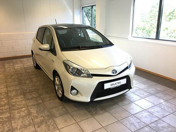 Toyota Yaris 1,5 Hybrid Style  2014, 47000 km, kr 164900,-