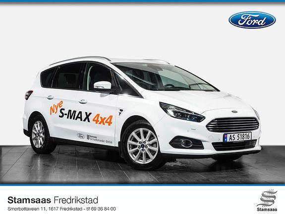 Ford S-MAX 2,0 TDCi 180hk Titanium AWD aut 7-s Demo, Varmer, 4x4