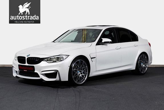 BMW M3 Competition HUD H&K Varmeratt Luke LED DAB 20'' 360kam  2017, 6000 km, kr 1239000,-