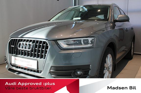 Audi Q3 2,0 TDI 140hk quattro WEBASTO PARKERINGSVARMER, CRUISE