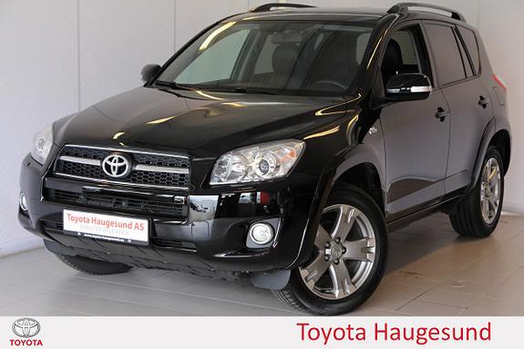 Toyota RAV4 2,2 D-CAT  X Aut Skinn, autoklima, tectylert  2010, 62384 km, kr 239000,-