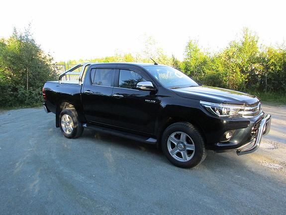 Toyota HiLux 2,5 dobb.cab SR+  2017, 10000 km, kr 475000,-