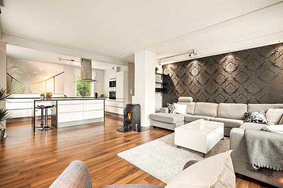 Pen 3-roms selveierleilighet med god planløsning sentralt beliggende i populære Sandviken - buss og dagligvarebutikk like ved - kort vei til sentrum og NHH!