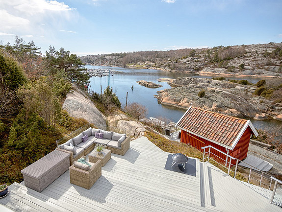 Praktfull boligeeiendom ved Skjelsbusund, Spjærøy, Hvaler