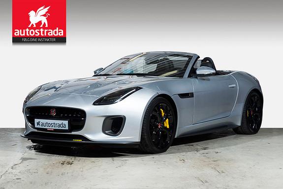 Jaguar F-TYPE 400 Sport Cabriolet  2018, 11000 km, kr 1399000,-