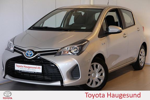 Toyota Yaris 1,5 Hybrid Active e-CVT Navi, kamera, Bluetooth, DAB+  2015, 45754 km, kr 175000,-
