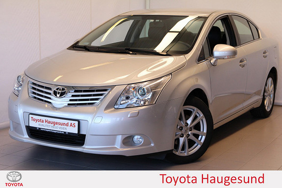 Toyota Avensis 1,8 147hk NaviTech Pluss M-drive S Skinn, kamera, Tecty  2011, 29255 km, kr 195000,-