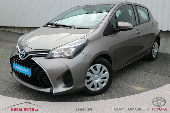 Toyota Yaris 1,5 Hybrid Active S e-CVT - UNIK KM.STAND - Navigasjon,  2015, 5100 km, kr 189900,-