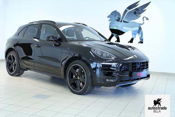 """Porsche Macan Sport design/Crono 18V Luft 21"""" ACC  2016, 26500 km, kr 990000,-"""